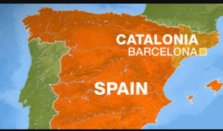 Mapa de Catalunya