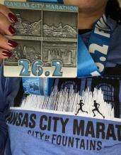 KC maraton medal