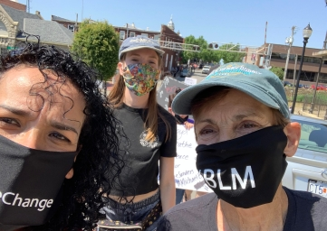 Protesta BLM
